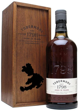 Tobermory Scotch Single Malt 15 Year